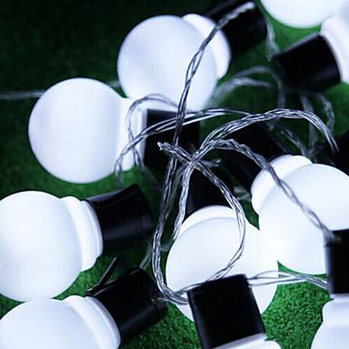 Ball String Christmas Lights : Outdoor Lighting 4Cm Big Size Led Ball String Light Ac220V Christmas Light 5023854 2016 USD 37.99