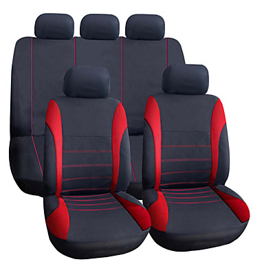 Buy Encell New Universal 9 Pieces Flat Cloth Multi Color Car Seat Cover