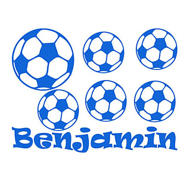 sports wall stickers football customized name wall art name customized stickers wall infinity love for couple