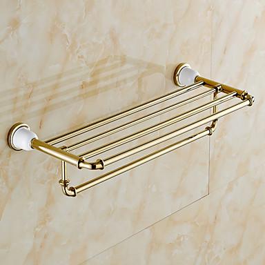 Mensola del bagno / Oro / A muro /24.4*8.6*5.9 inch ...