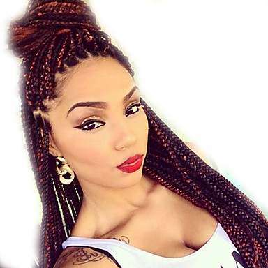 Crochet Box Braids Hairstyles : Box Braids Hair 24 Crochet Hair Extensions Synthetic Crochet Braid ...