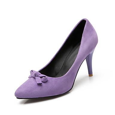s shoes fleece leatherette stiletto heel heels