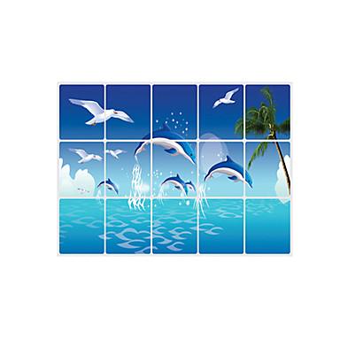 Animales romance formas 3d pegatinas de pared for Calcomanias para paredes decorativas