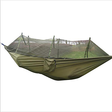 Portable Tactical Camping Outdoor Hammock Bed Mosquito Net