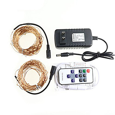 String Lights Remote Control : KWB 20 M 200 3014 SMD Warm White Waterproof Remote Control Dimmable W String Lights DC12 V ...