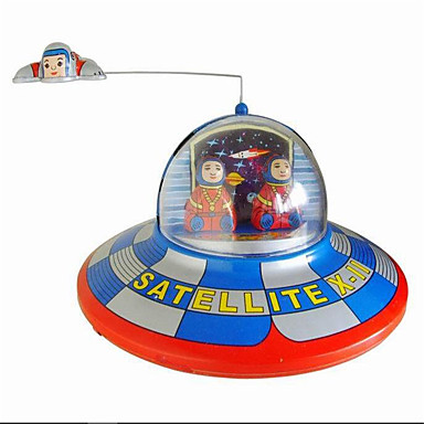 Novelty Lamp Crossword : Novelty Toy Puzzle Toy Wind-up Toy Novelty Toy Circular Space Ship Metal Blue For Kids 5229040 ...