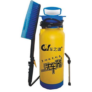 portable manuellement m nage lavage outils voiture lavage 8 litres bleu avec une brosse de. Black Bedroom Furniture Sets. Home Design Ideas