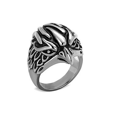 unique design mens ring boys bird 316l stainless