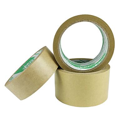 Buy Flesh 0.8cCm 5.5Cm * 20M Environmentally Friendly Water-Free Kraft Paper Tape (Volume 3 A)