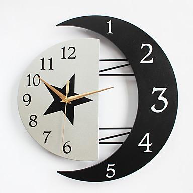 Moderno contempor neo casas reloj de pared otros metal - Reloj de pared moderno ...
