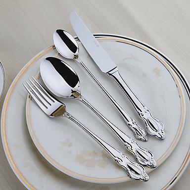 Acier inoxydable 304 fourchette de table couteau de for 1 cuillere a table