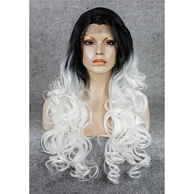 Imstyle 26 Popular Wavy Drag Queen White Synthetic Lace