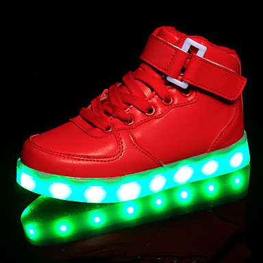kids boy girl's led shoes sneakers comfort / flats
