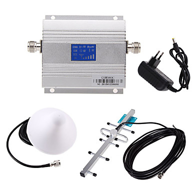 New LCD GSM 900MHz Cell Phone Signal Booster Amplifier + Antenna Kit 2314411 2017 – $51.24