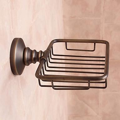 Estanter a de ba o bronce con ba o en aceitelat n acero for Estanteria bano acero inoxidable