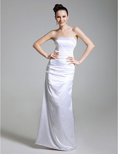 Vestido tomara-que-caia branco