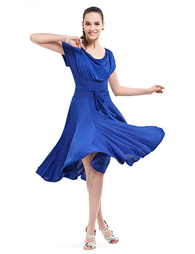 V tements de danse de salon danse robe viscose moderne - Musique danse de salon ...