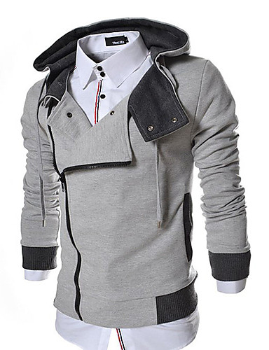 Buy X-MAN Men's Cable Stayed Long Sleeve Coat Hat