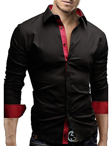 Camicia uomo casual da ufficio formale taglie forti for Ufficio sinistri t shirt