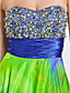 TS Couture Prom / Military Ball / Formal Evening Dress - Print Plus Sizes / Petite A-line / Princess Strapless / Sweetheart Floor-lengthStretch