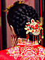 элегантный китайский золотой головной убор для проведения свадеб
