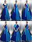 TS couture® выпускного вечера / официально платье вечера - цвет блока плюс размер / Petite-линии джерси длиной до пола с