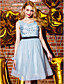 TS Couture® Cocktail Party / Homecoming / Prom / Holiday / Company Party Dress - Vintage Inspired Plus Size / Petite Ball Gown Jewel Knee-length