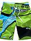 Masculino Shorts Casual Estampado Poliéster Verde / Vermelho / Amarelo