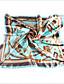 Damer Vintage / Fest / Kontor / Casual Polyester Halstørklæde-Trykt mønster Firkantet