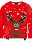 Damen Pullover Lässig/Alltäglich Druck Rundhalsausschnitt Mikro-elastisch Polyester Langarm Herbst Winter
