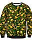 Damen Pullover Lässig/Alltäglich Solide Rundhalsausschnitt Mikro-elastisch Baumwolle Lange Ärmel Winter