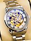 Luxury brand Luminous Clock Men Automatic Mechanical Watch Skeleton Military Relogio Male Montre Men Watches Relojes Hombre
