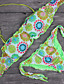 Womens Vintage Floral Lace Swimsuit Bikini