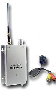 micro de color inalámbrica cámara estenopeica CMOS con el receptor de vídeo