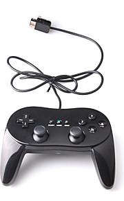 Gripstijl klassieke controller, voor Wii (zwart)