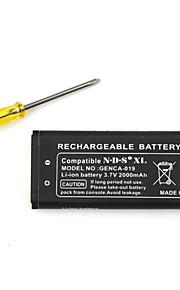 oplaadbare batterij pack voor Nintendo DSi XL (2000mAh)