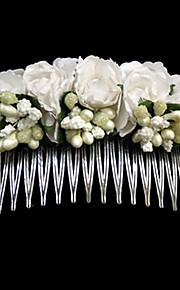 Copricapo Bambina Fermagli Matrimonio/Occasioni speciali/Casual Carta/Acciaio inox Matrimonio/Occasioni speciali/Casual