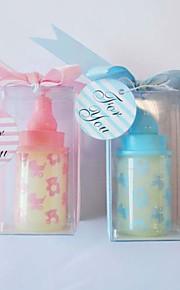 Baby Shower Part favoriserer og gaver-4Stykke/Sæt Bryllup Stearinlys Ikke-personaliseret Pink / Blåt