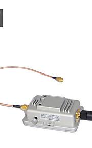1000 mW 2.4GHz Wi-Fi signal + d11 booster (bredbånd trådløse signal forstærker)