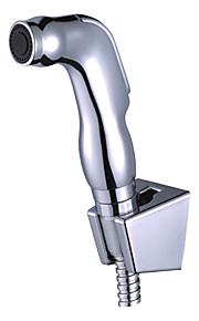 main bidet de pulvérisation d'argent sans tuyau d'alimentation et support de douche