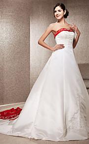 Lanting Bride® Trapèze / Princesse Petites Tailles / Grandes Tailles Robe de Mariage - Classique & Intemporel / Elégant & Luxueux