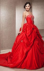 Lanting Bride® Robe de Soirée Petites Tailles / Grandes Tailles Robe de Mariage - Classique & Intemporel / Chic & Moderne ColoréesTraîne