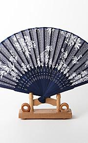 Chrysanthemum Pattern Hand Fan (Set of 4)