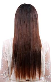 regenboog kleuren weefgetouw 22 inch clip-in hair extensions
