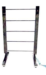 60w вертикальный зеркальный блеск круговой warmmer трубы полотенце сушилка