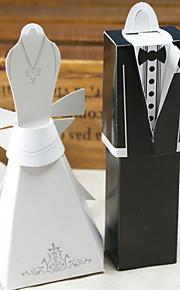 Formal Gown & Tux Favor Box (Set of 12)