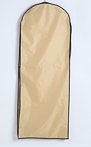 Elegant Two Layers Waterproof Cotton / Tulle Gown Length Garment Bag