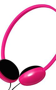kanen kraftig bass ergonomisk hodetelefon med mikrofon og volumkontroll (assorterte farger)