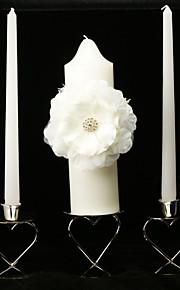 élégantes bougies floraison de fleurs de mariage unité (ne pas inclure bougeoir)