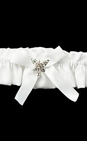 Polyester magnifique / Satin Avec Jarretière de mariage bowknot